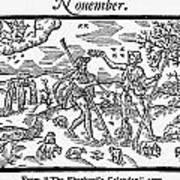 Shepherd, 1597 Art Print