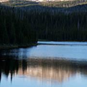 Sheriff Lake Flat Tops Colorado Art Print