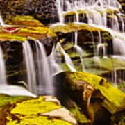 Shifen Waterfall Art Print