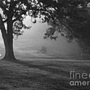 Shiloh In The Fog Art Print by David Bearden