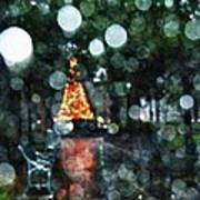 Shiny Tree In Bienville Square Art Print