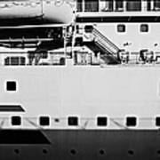 Ship Watching Art Print by Dean Harte