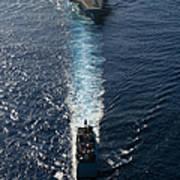 Ships From The John C. Stennis Carrier Art Print