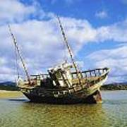 Shipwrecks, Bunbeg, Co Donegal Art Print