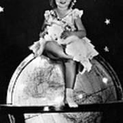Shirley Temple, Fox Film Portrait, Ca Art Print