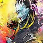 Shiva Diva Art Print