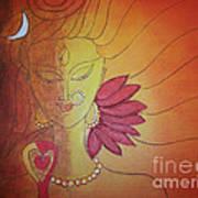 Shivshakti - Ardhnaarishwar Art Print