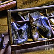 Shoe - The Shoe Cobblers Box Art Print