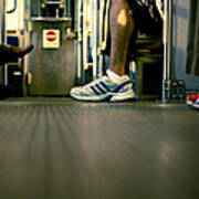 Shoes On The L Art Print