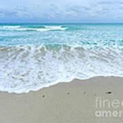 Shores Of  Miamibeach Art Print