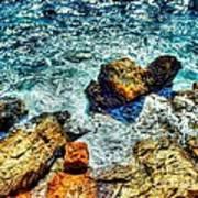 Shores Of The Aegean Art Print