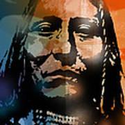 Shoshone Brave Art Print