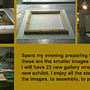 Show Preparations Art Print