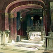 Shrine Of The Annunciation Nazareth Art Print