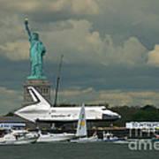 Shuttle Enterprise 3 Art Print