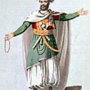 Sidy Hafsan, Bey Of Tripoli, 1816 Art Print