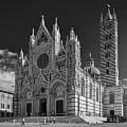 Siena Duomo Art Print by Michael Avory