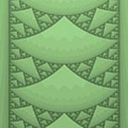 Sierpinski Composition Art Print