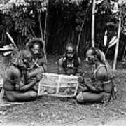 Silent Film Still: Natives Art Print