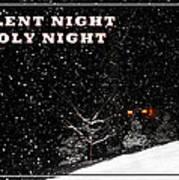 Silent Night Card Art Print