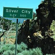 Silver City Nevada Art Print