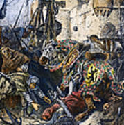 Simon De Montfort Art Print