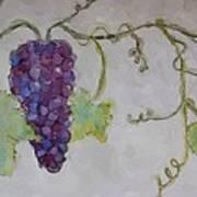 Simply Grape Art Print