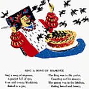 Sing A Song Of Sixpence Art Print