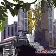 Singapore ... The Lion City  Art Print