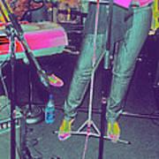 Singer's Stance Art Print