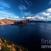 Sinott Crater Lake View Art Print