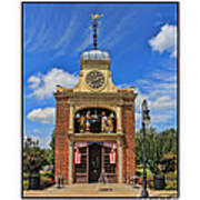 Sir John Bennett Clock Shop Art Print