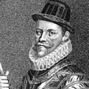 Sir John Hawkins (1532-1595) Art Print