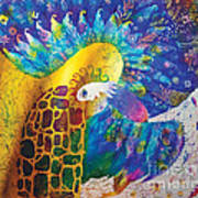 Sirin The Bird Art Print