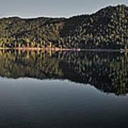Siskiyou Lake Panorama Art Print