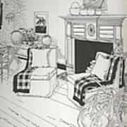 Sitting Room Art Print
