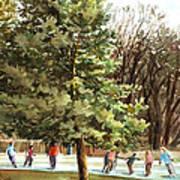 Skaters Print by Peter Sit