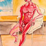 Skinless Print by Nina Mirhabibi