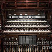 Skinner Pipe Organ Art Print
