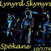 L S  In Spokane 1 Art Print