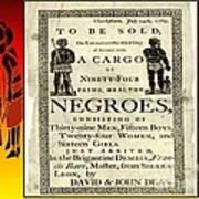 Slave Sale Art Print