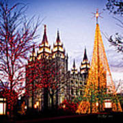 Slc Temple Tree Light Art Print