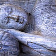 Sleeping Buddha Statue Art Print