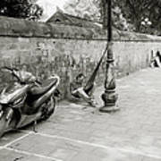 Sleeping In Hanoi Art Print