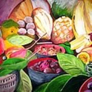 Slice Of Jamaica Art Print