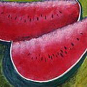 Slices Of Summer Art Print by Gitta Brewster