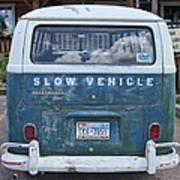 Slow Vehicle Art Print