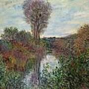 Small Branch Of The Seine Art Print