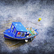 Small Fisherman Boat Print by Svetlana Sewell