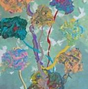 Small Grove Art Print by Helene Henderson